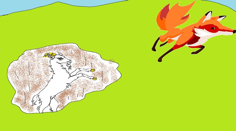 tilki ile keçi