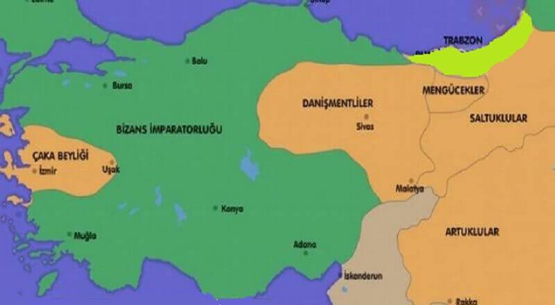 Anadolu da kurulan ilk Türk Beylikleri