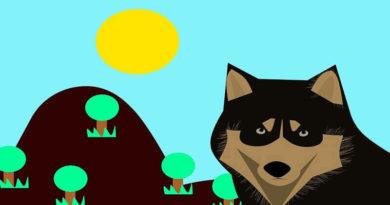 Kurt ile Çiftlik Köpeği Masalı