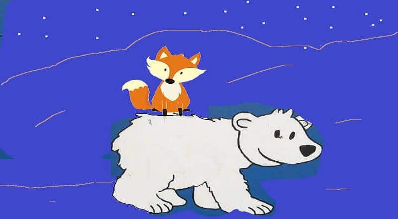 ayı ile kurnaz tilki
