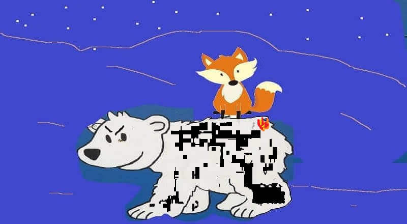 the bear and cunning fox