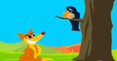 The Cunning Fox and Foolish Crow