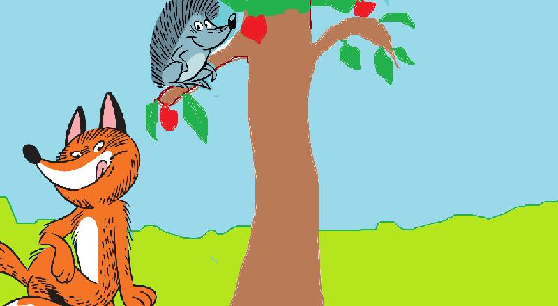 The Selfish Fox and Hedgehog