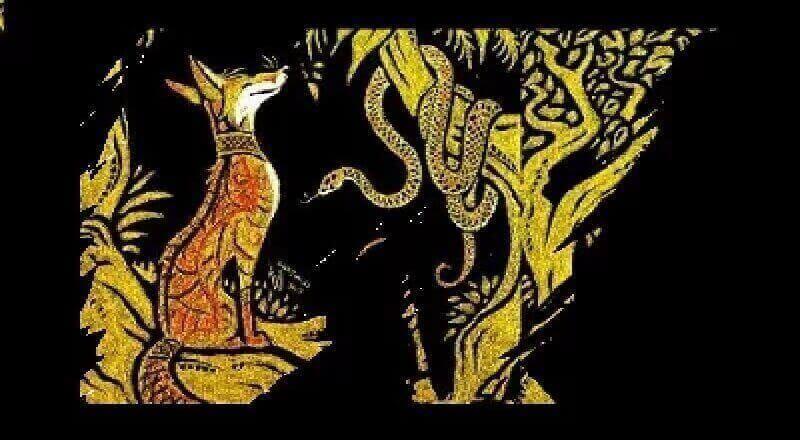 Yılan ile Tilki Masalı