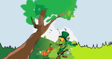 Çekirge ile Karınca Masalı