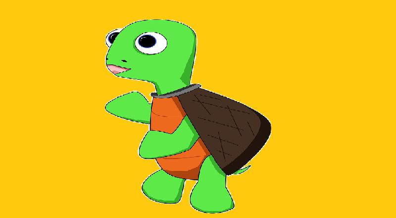 Küçük Kaplumbağa Yavrusu