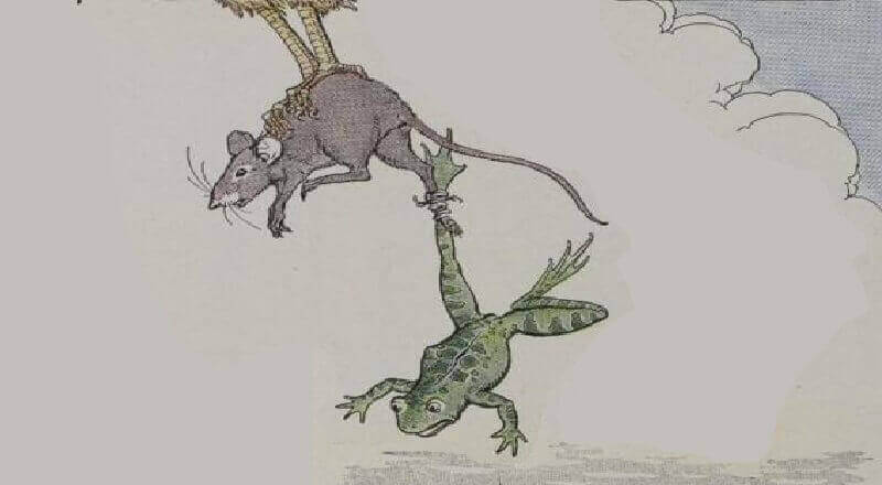 Fare ile Kurbağa masalı
