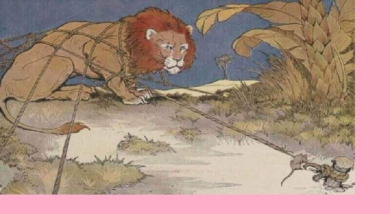 Aslan ile Fare Masalı İyilik eden kaybetmez.