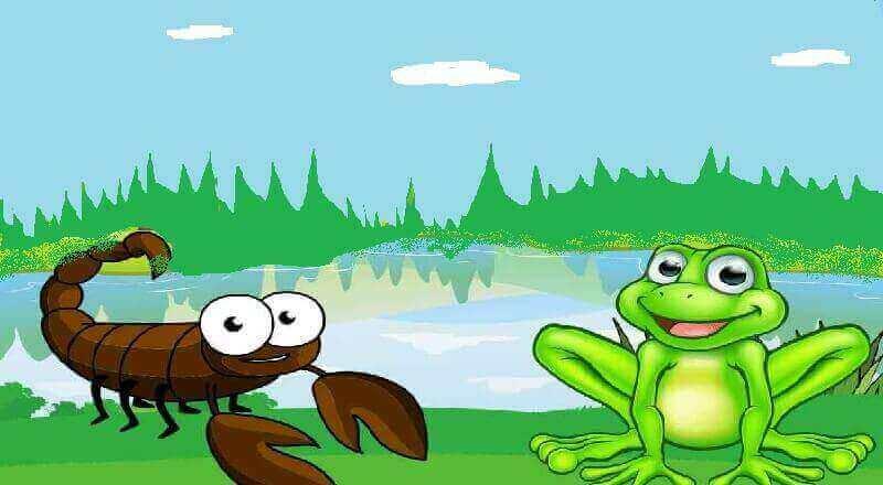 Kurbağa ile Akrep Masalı