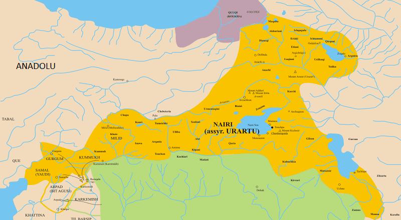 Urartular Hakkında Kısaca Bilgiler